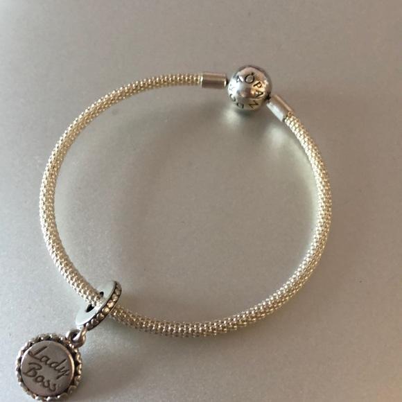 Pandora Jewelry Mesh Bracelet Poshmark